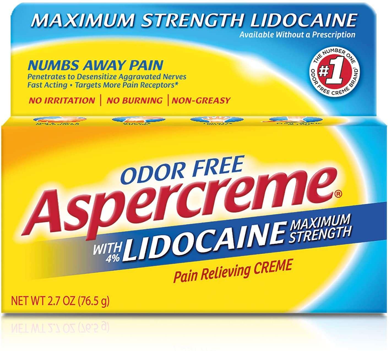 Aspercreme with Lidocaine Maximum Strength