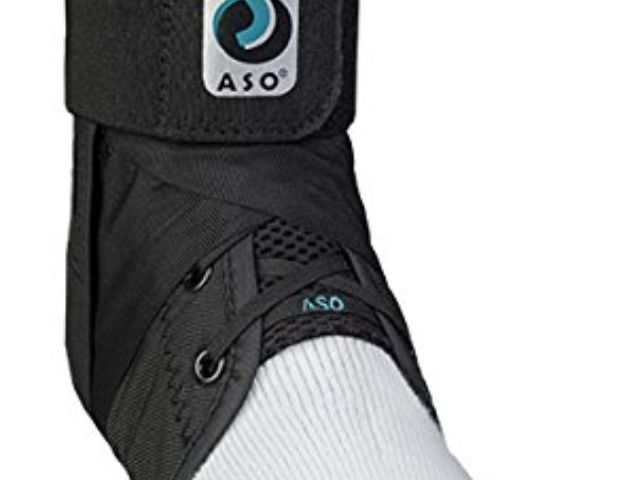 Football Basketball and Lacrosse Ultra Ankle High-5 Ankle Brace for Chronic Ankle Instability and Reoccurring Joint Pain Fits Left or Right Ankle Black//Small Great for Volleyball