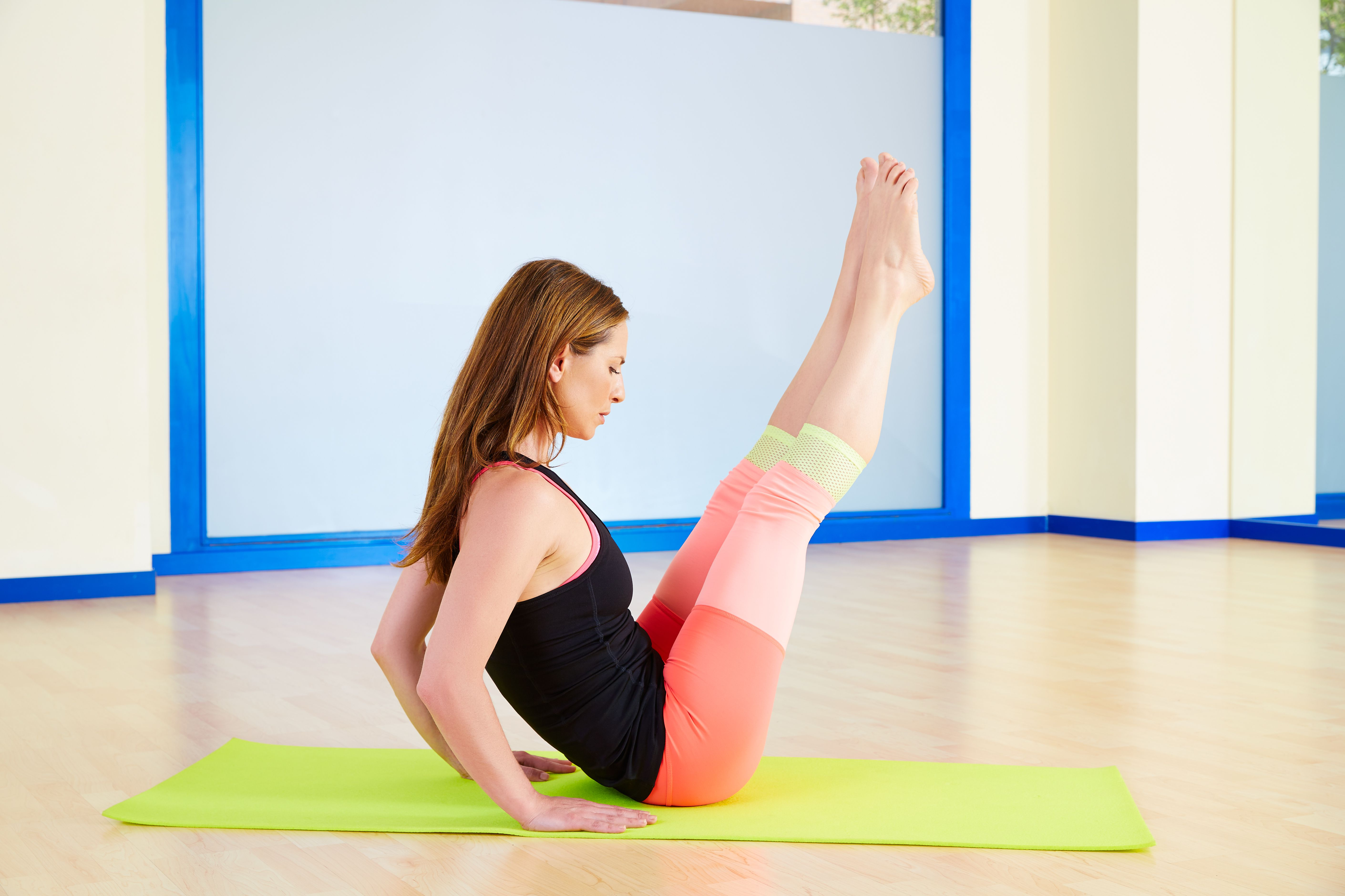 Advanced Pilates Exercises on the Mat