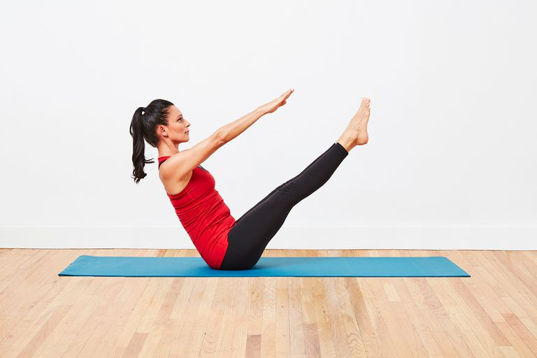The V Sit Ab Exercise For Core Strength