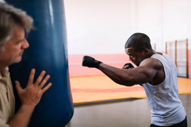 7f487b18562 A 20-Minute Punching Bag Workout