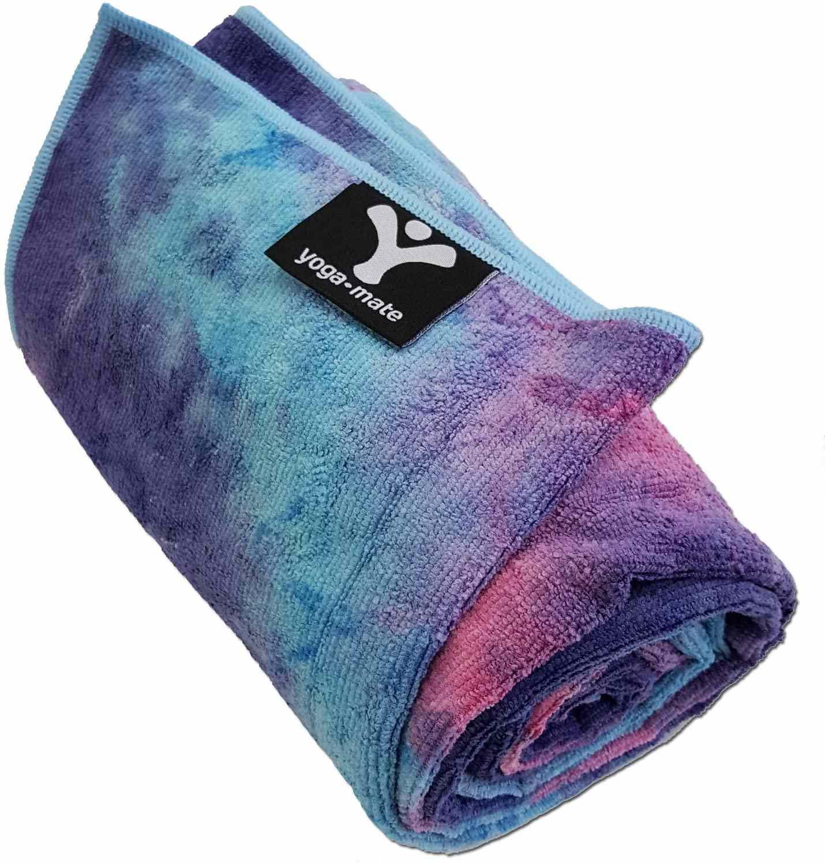 Yoga Mate Non-Slip Bikram Yoga Mat Size Towel