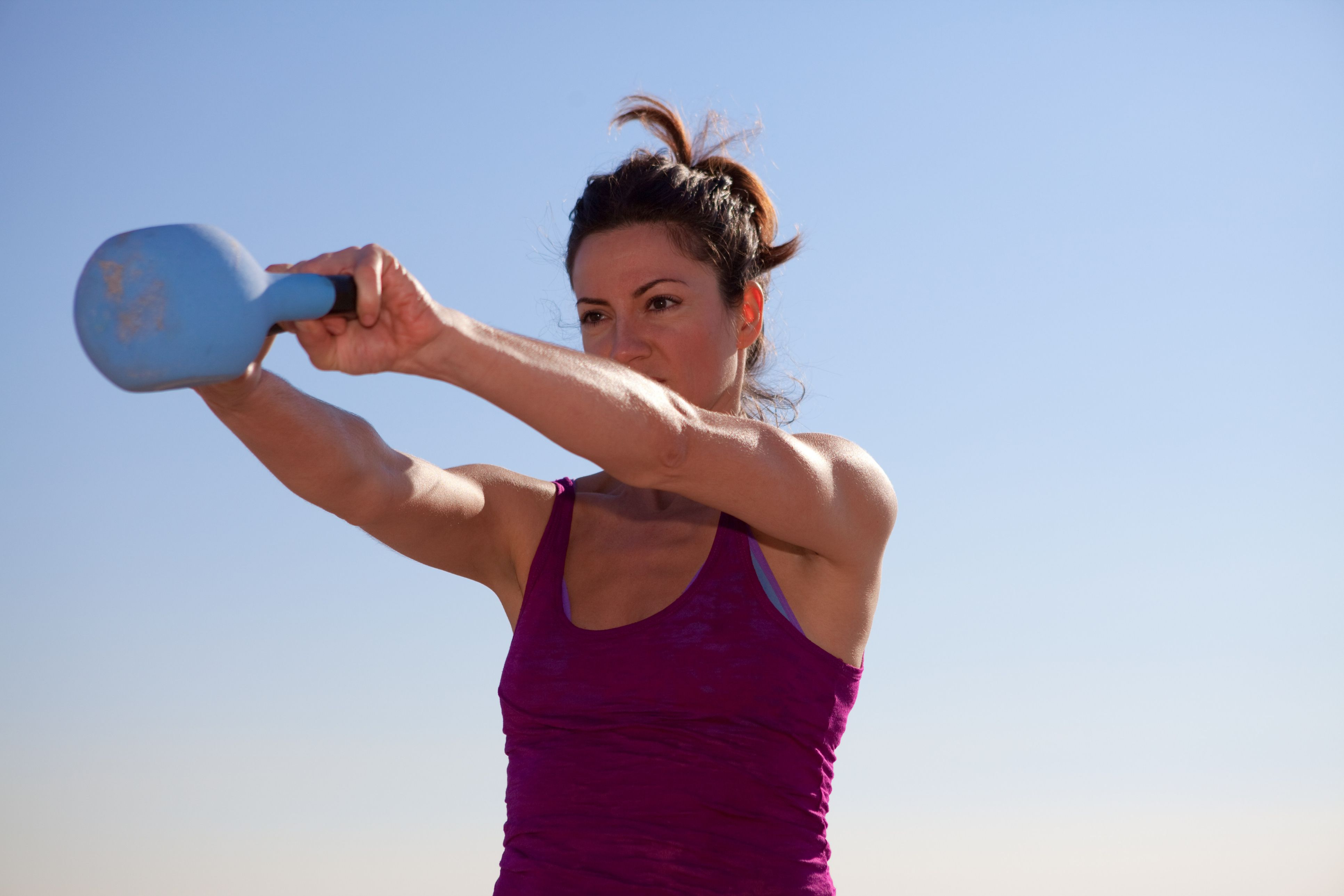 Pick up Your Kettlebell for a Fun Workout