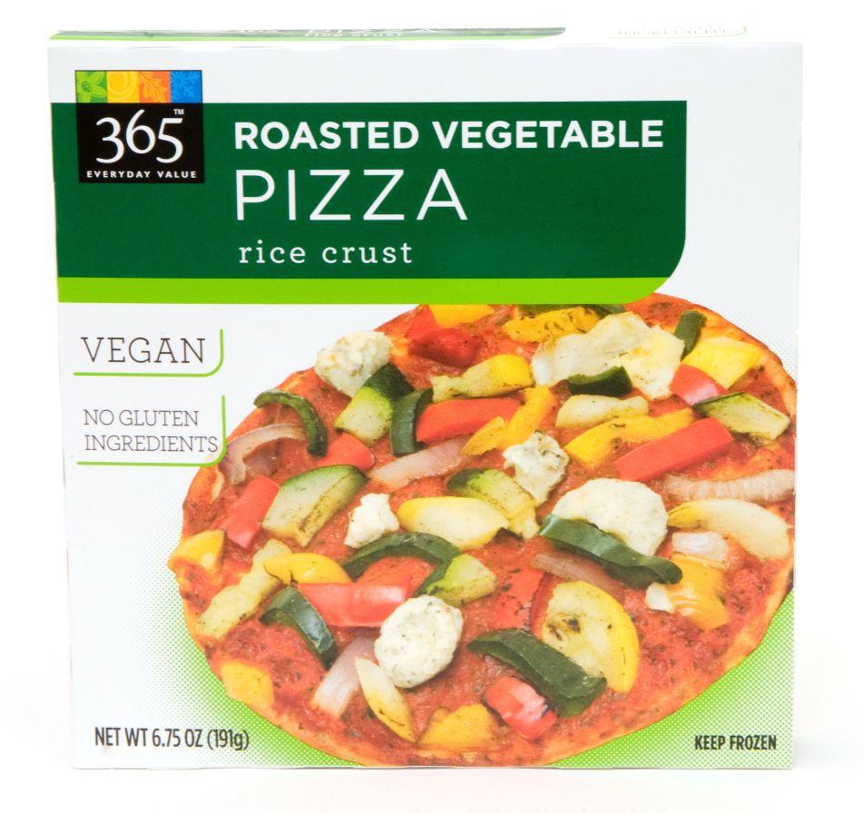 365 Roasted vegetable pizza