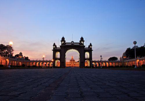 Palacio Mysore Maharaja