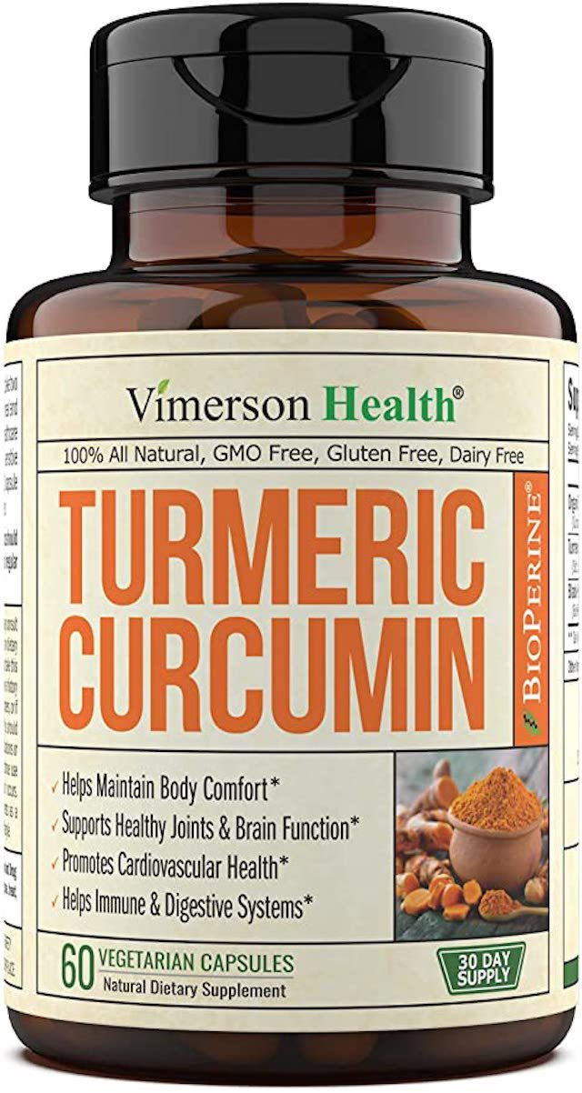 Vimerson Health Turmeric Curcumin with Bioperine