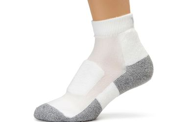 Thorlo Women's Thin-Cushion Walking Mini Crew Sock
