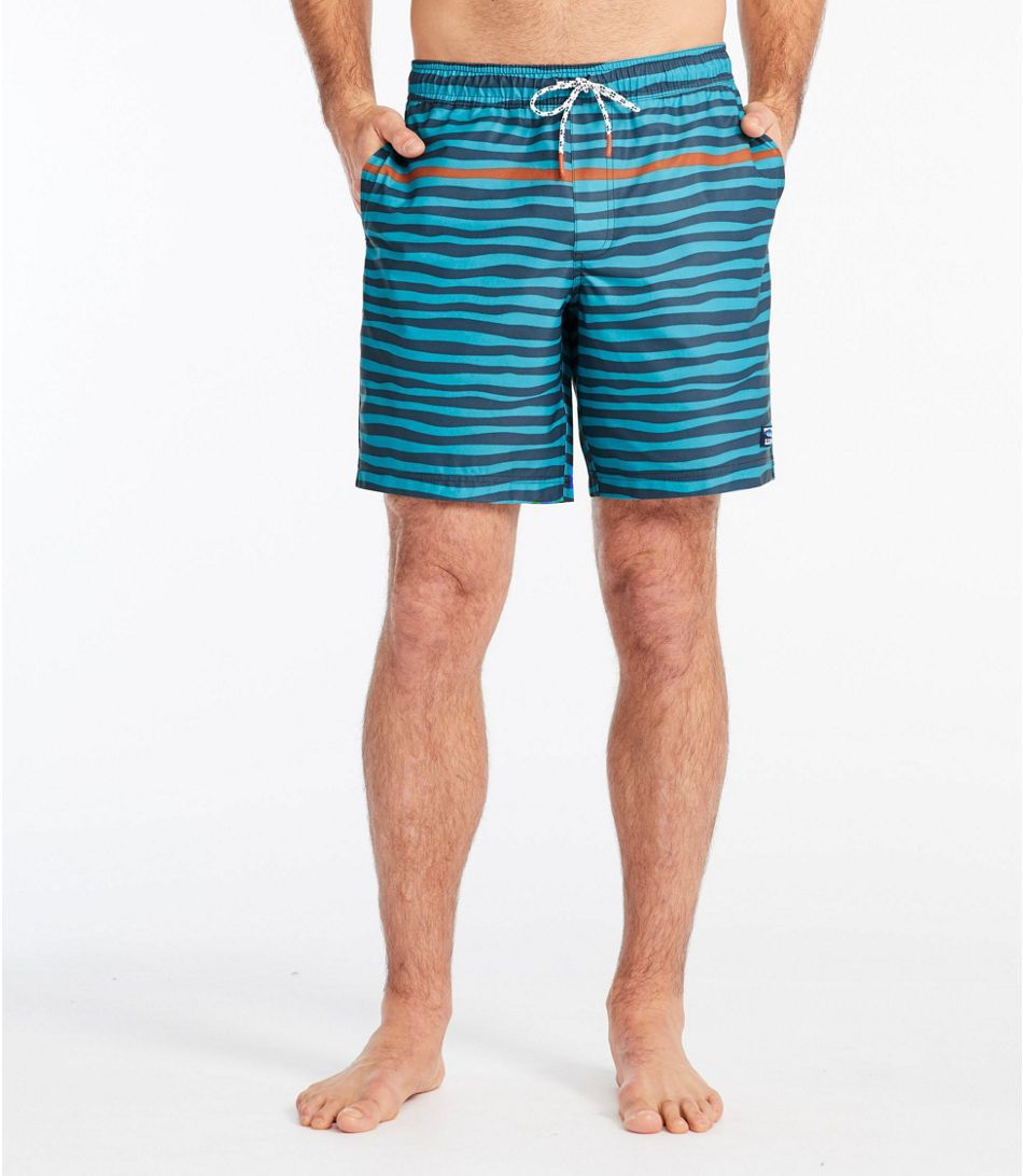 L.L. Bean Men's Vacationland Stretch Swim Trunks