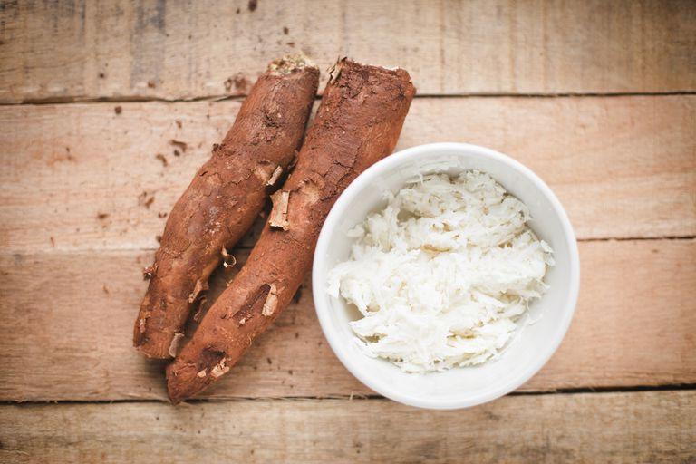 cassava root and tapioca