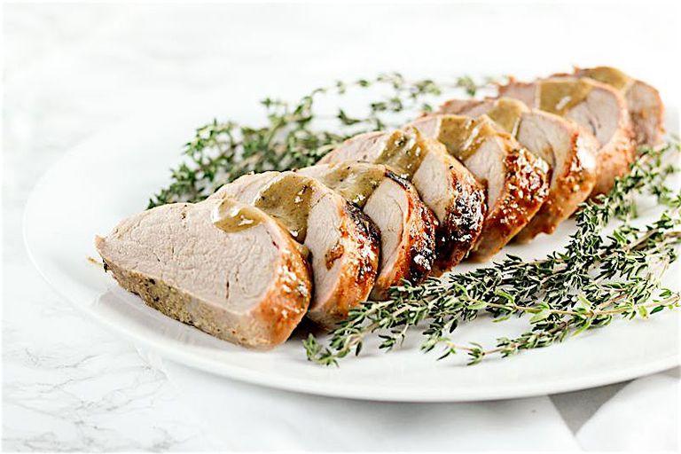 honey mustard pork tenderloin