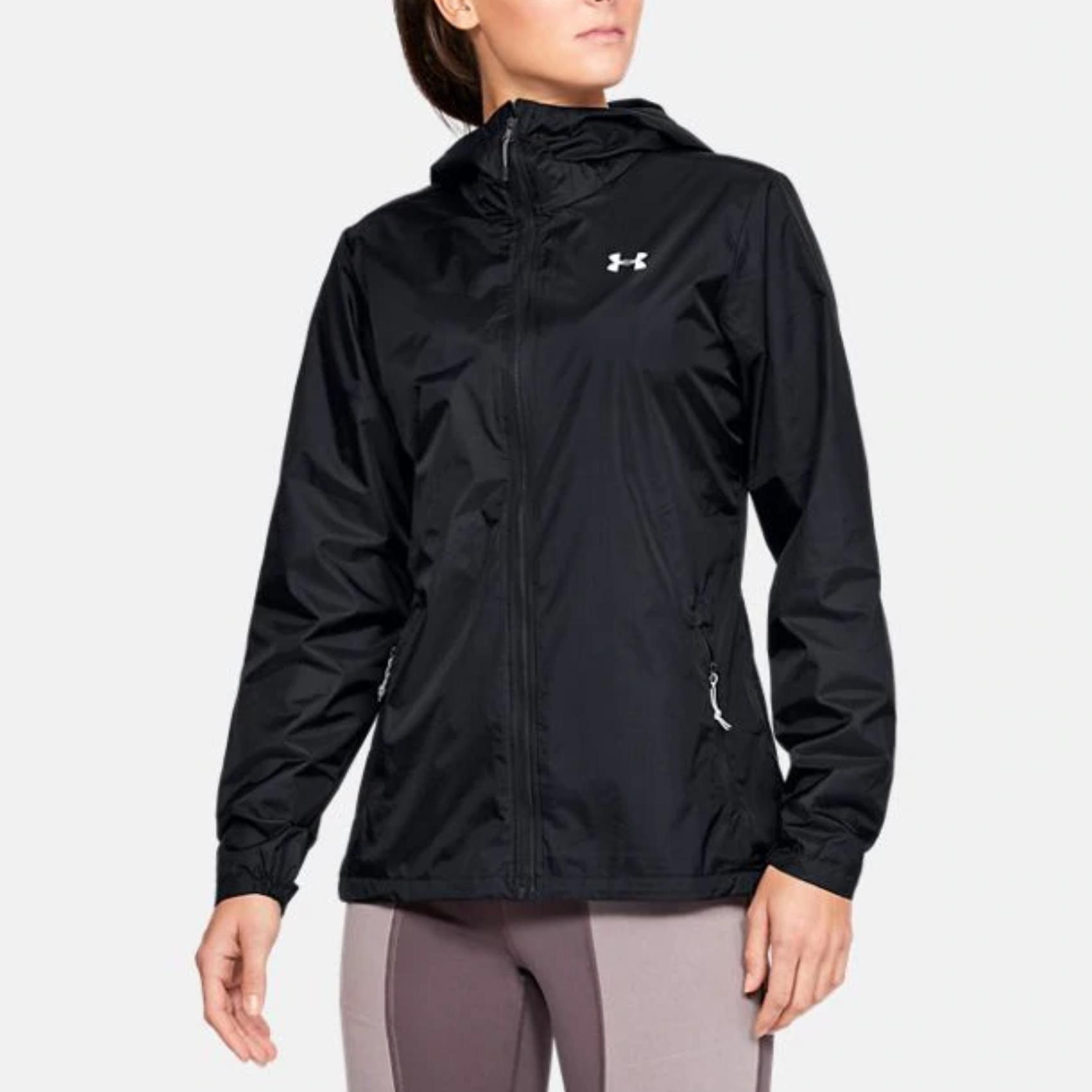 chaqueta de lluvia de vanguardia ua para mujer
