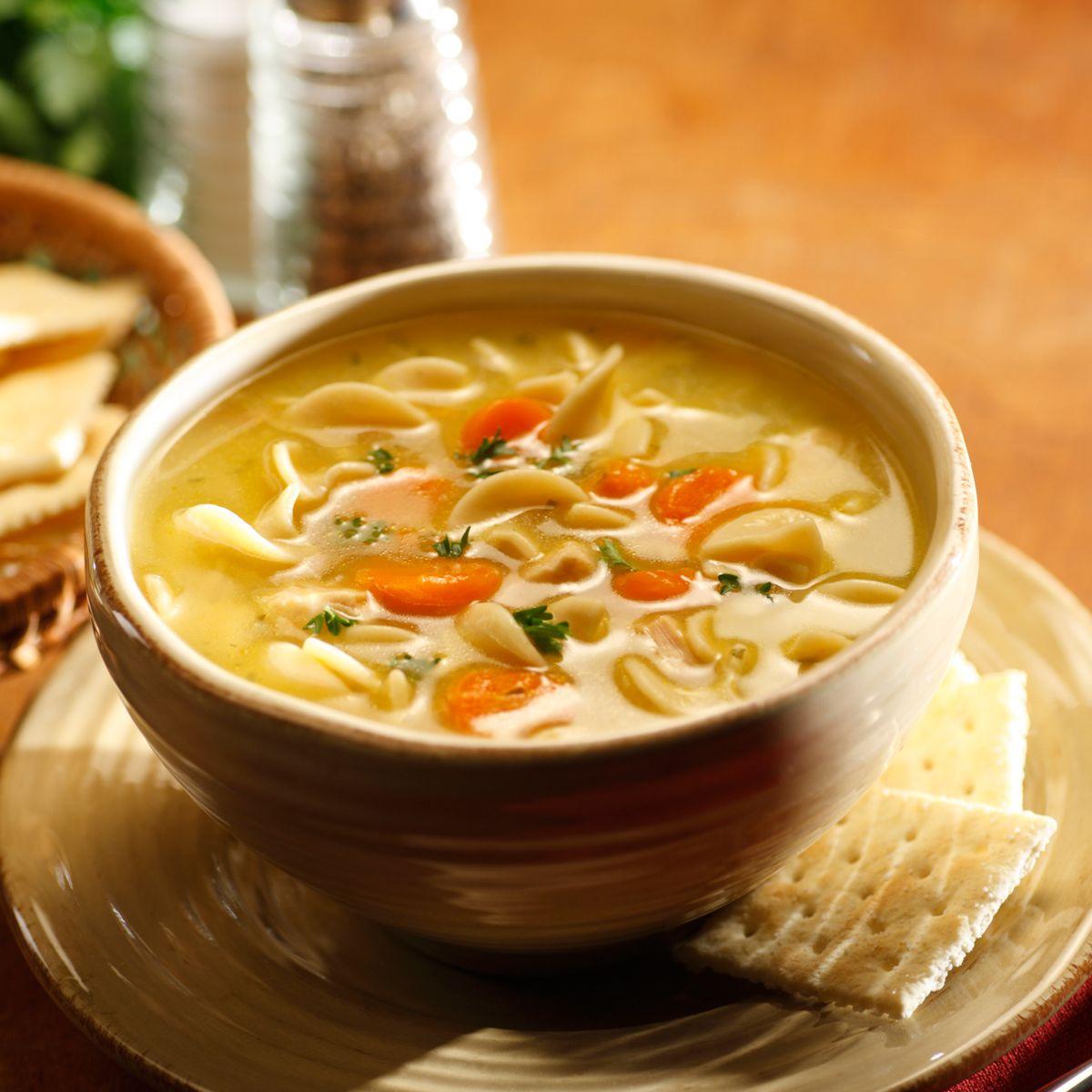 Chicken Noodle Soup Recipe Egg Noodles
