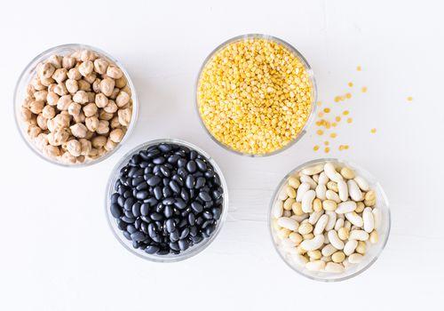 Frijoles y legumbres