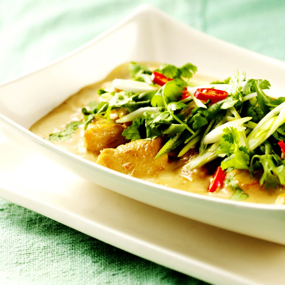 Thai Coconut Curry Chicken Recipe