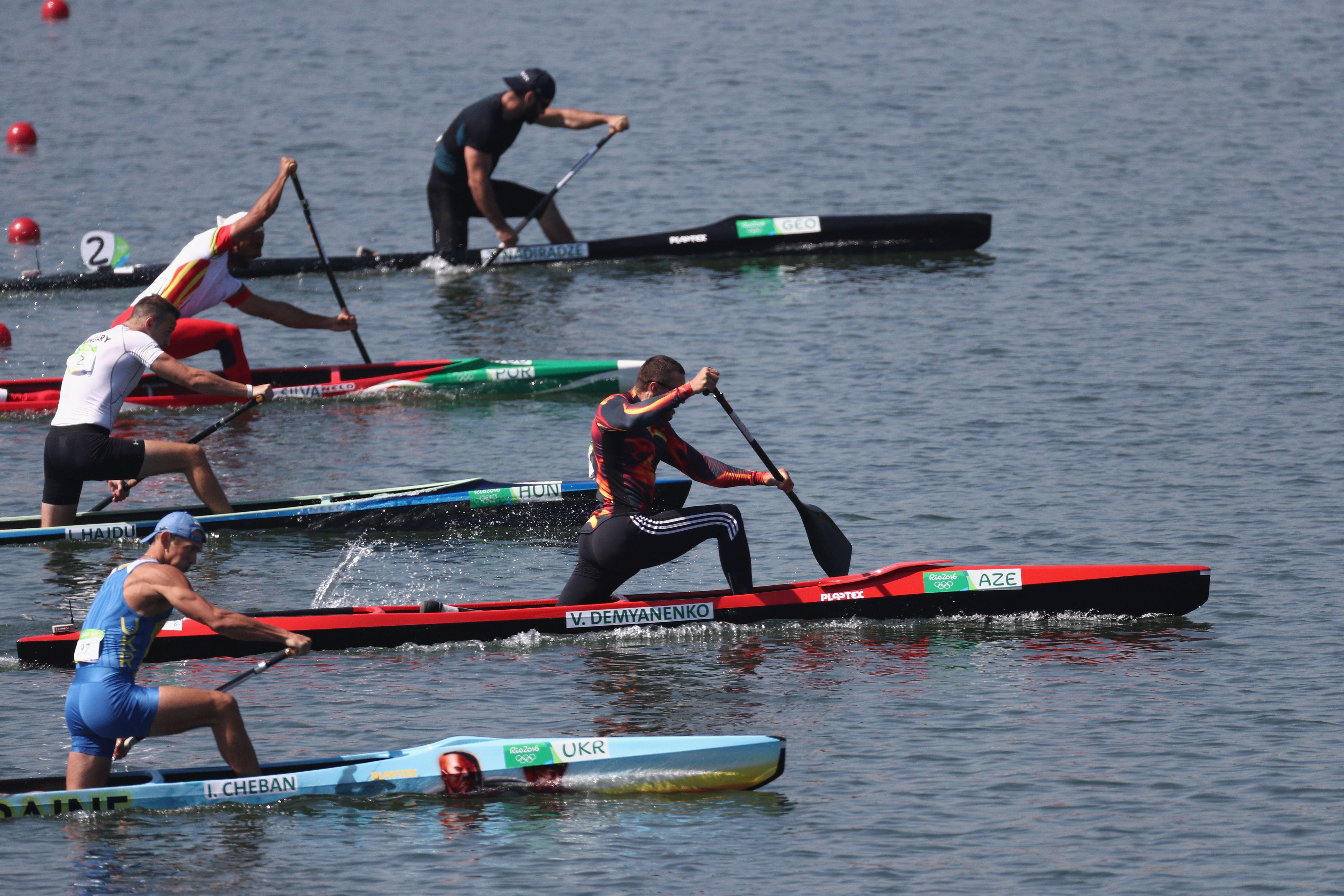 Sprint Piragüismo en los Juegos Olímpicos de Río
