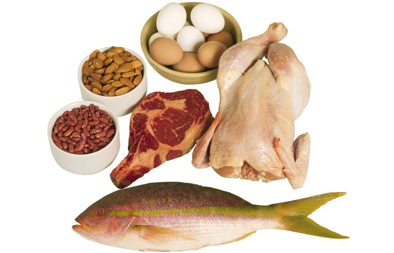 You need about 50 to 100 grams of protein every day.