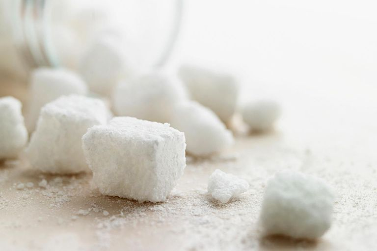 Sugar Cubes and Jar