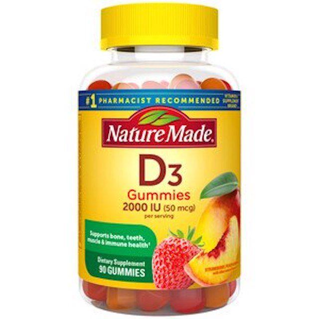 Nature Made Vitamin D3 Gummies