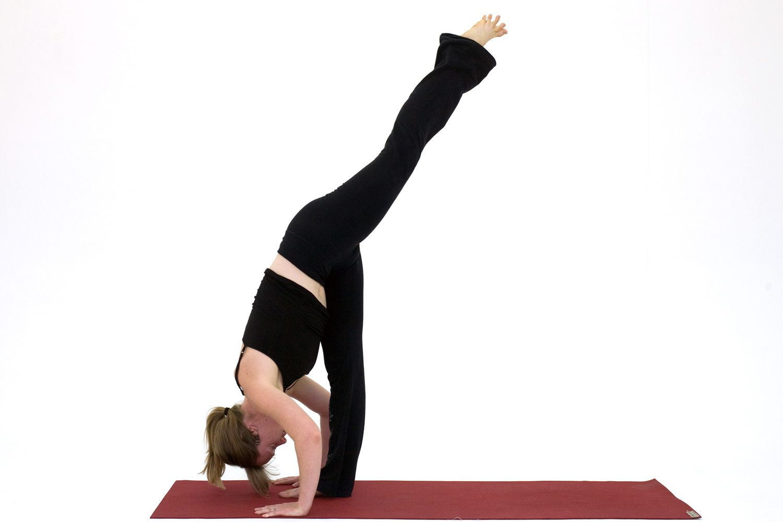 Yoga Poses for Hamstrings: Standing Split