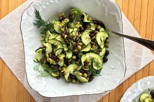 Zucchini Ribbon Salad