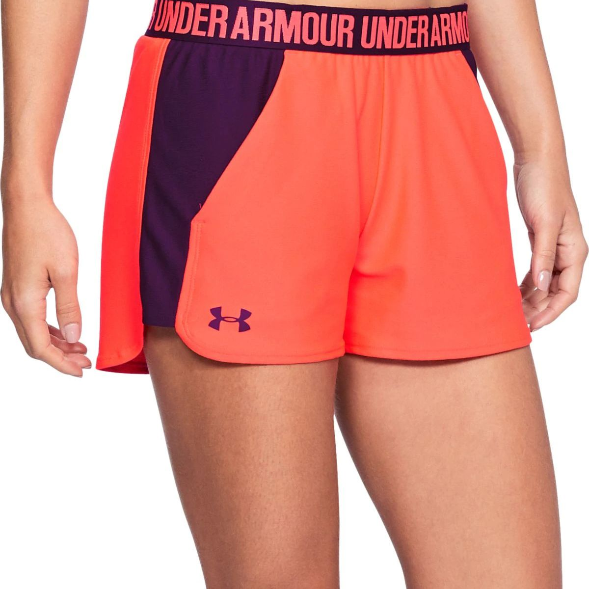 "Shorts Under Armour Play Up de 3 ""para mujer"