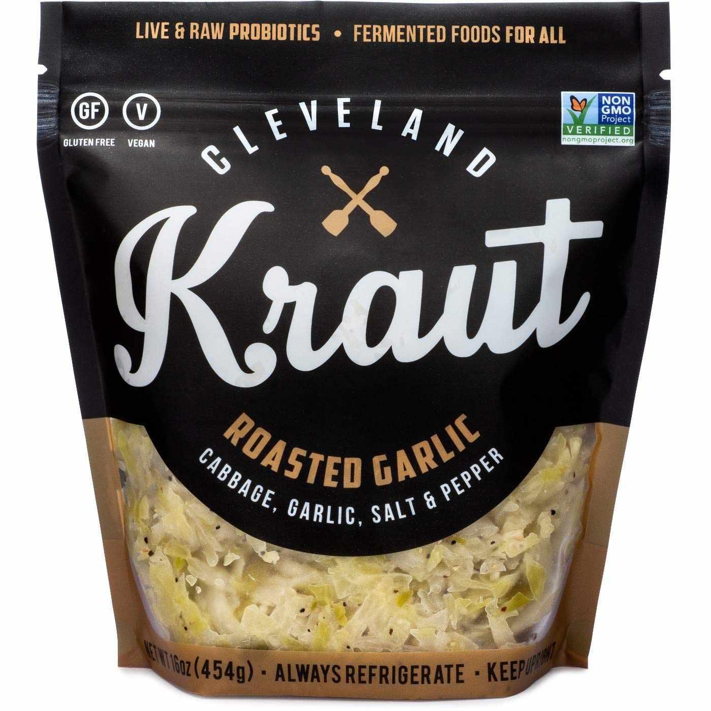 Cleveland Kitchen Kraut Roasted Garlic Sauerkraut
