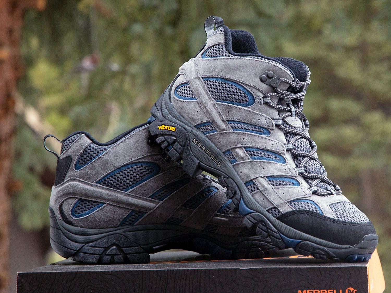 Merrell Mens Moab 2 Vent Mid Hiking Boot