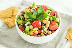 Vegan 3 Bean Salad