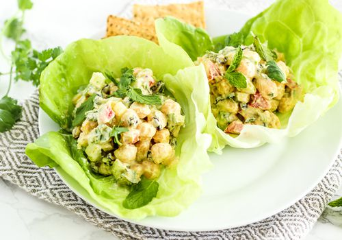 Curry Chickpea Salad