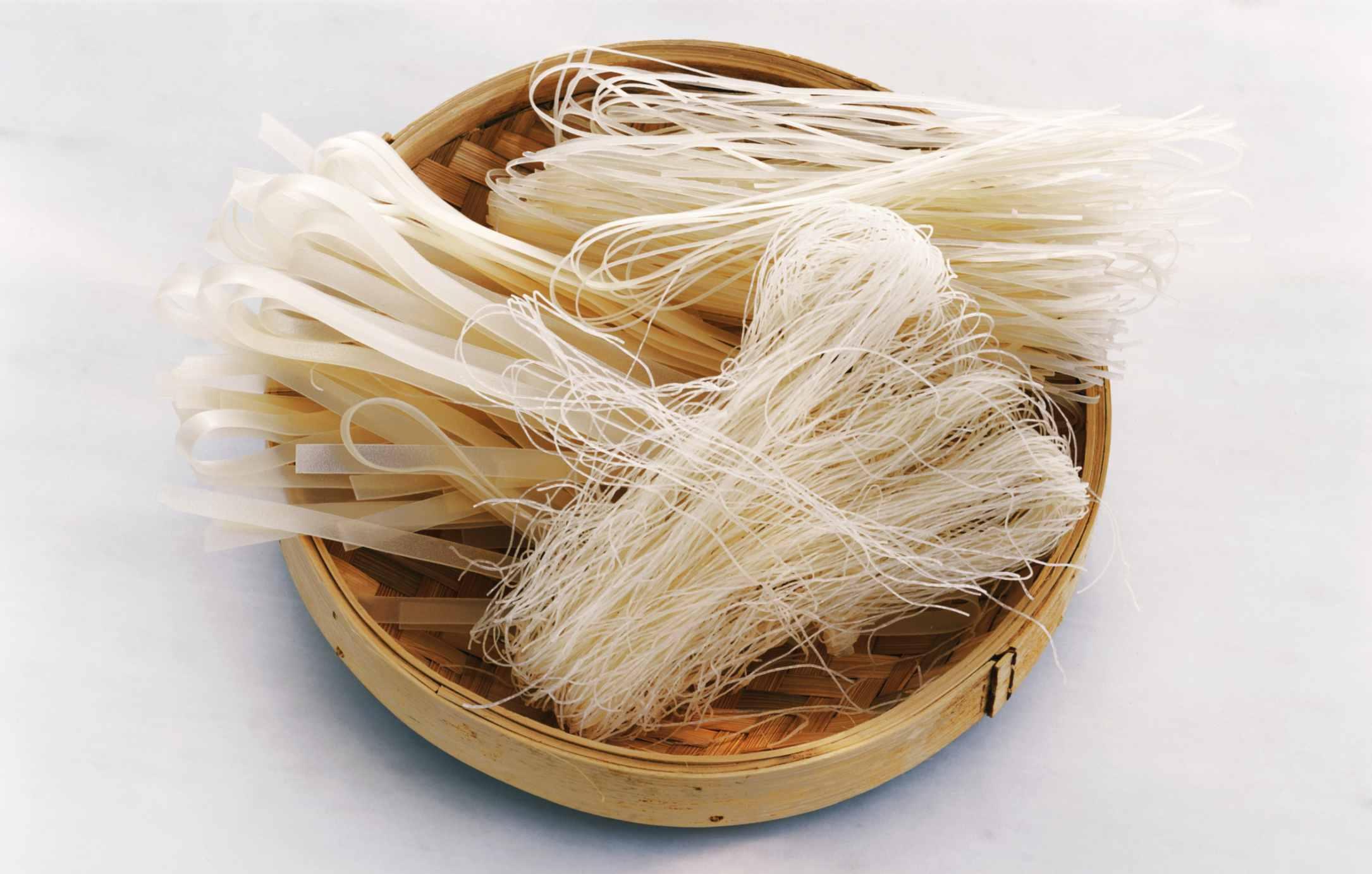 Fideos de arroz chino