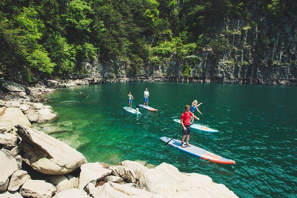 paddleboarding cardio