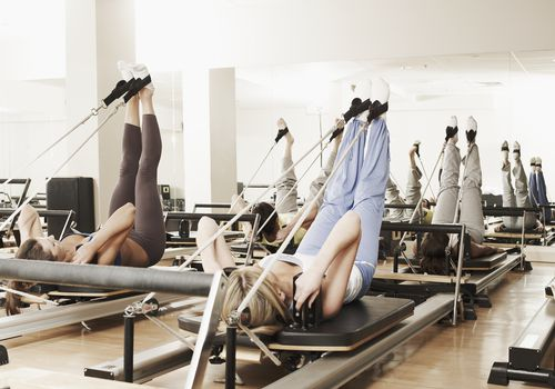Clase de reformador de pilates