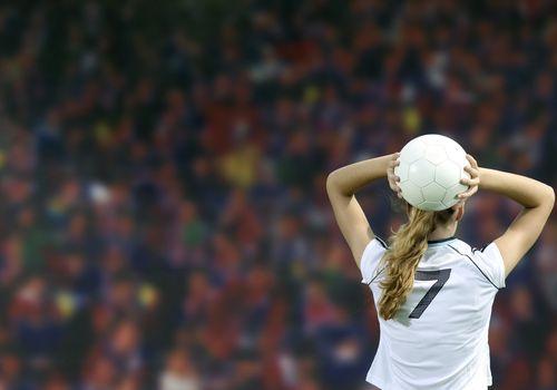 Futbolista mujer