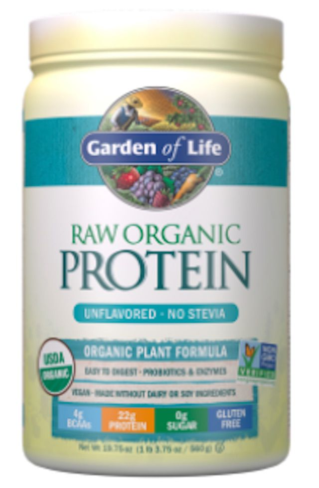 Garden of Life Raw Organic Protein Unflavored