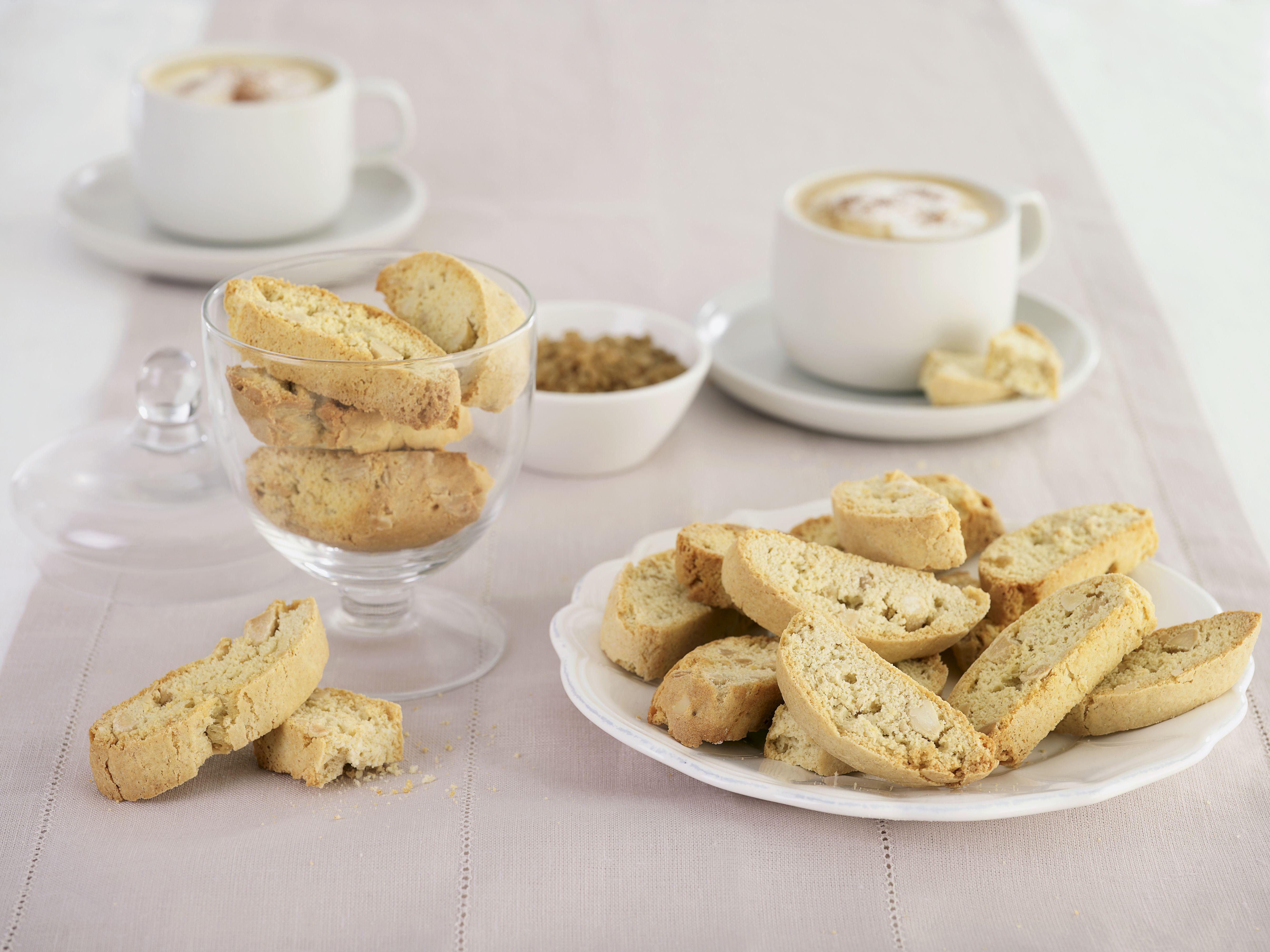 Gluten-Free Sugar-Free Almond Biscotti Recipe