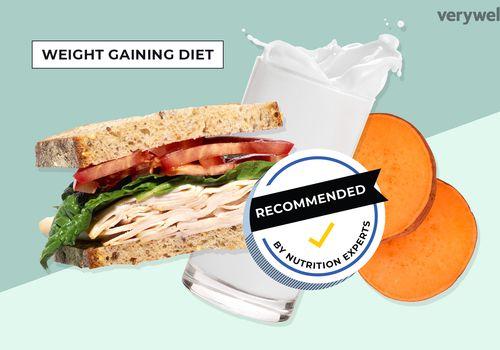 Weight gaining diet