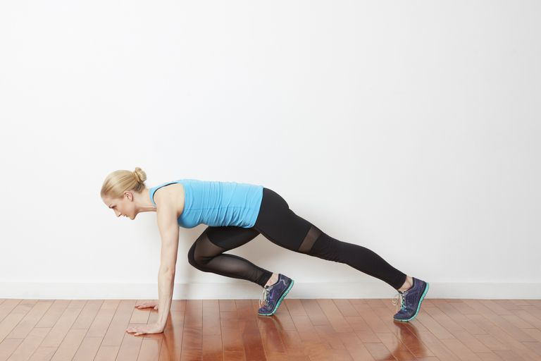 Image result for One-Legged Mountain Climber exercise