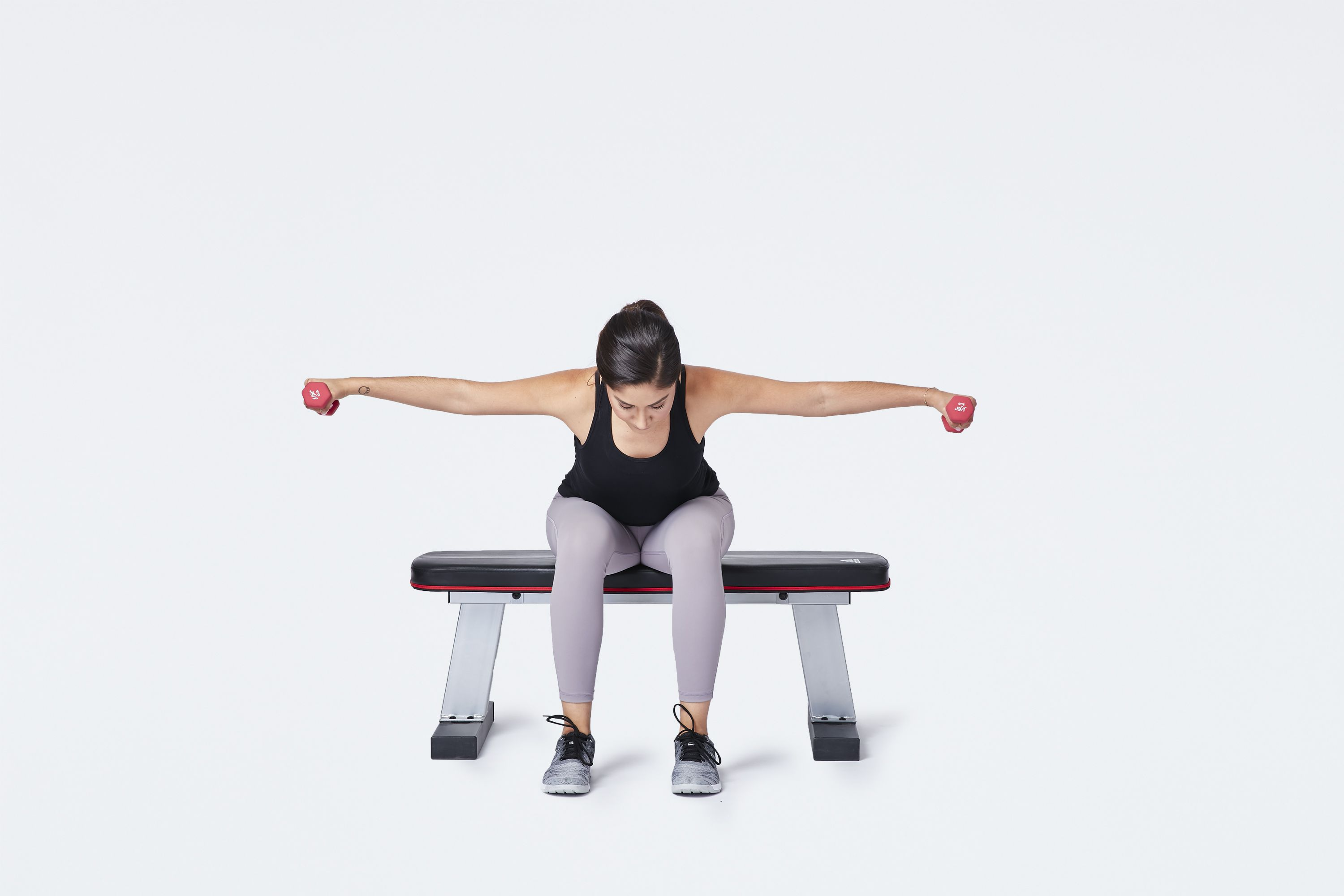 reverse fly exercise move