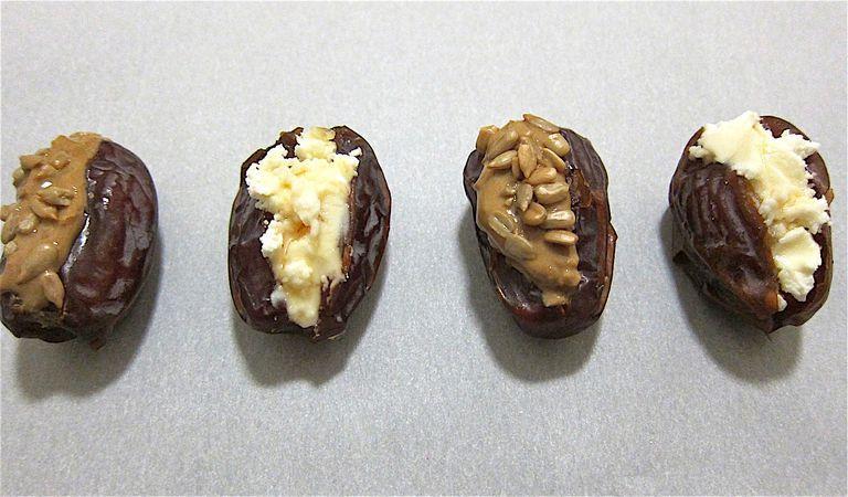Sweet and Savory Stuffed Dates