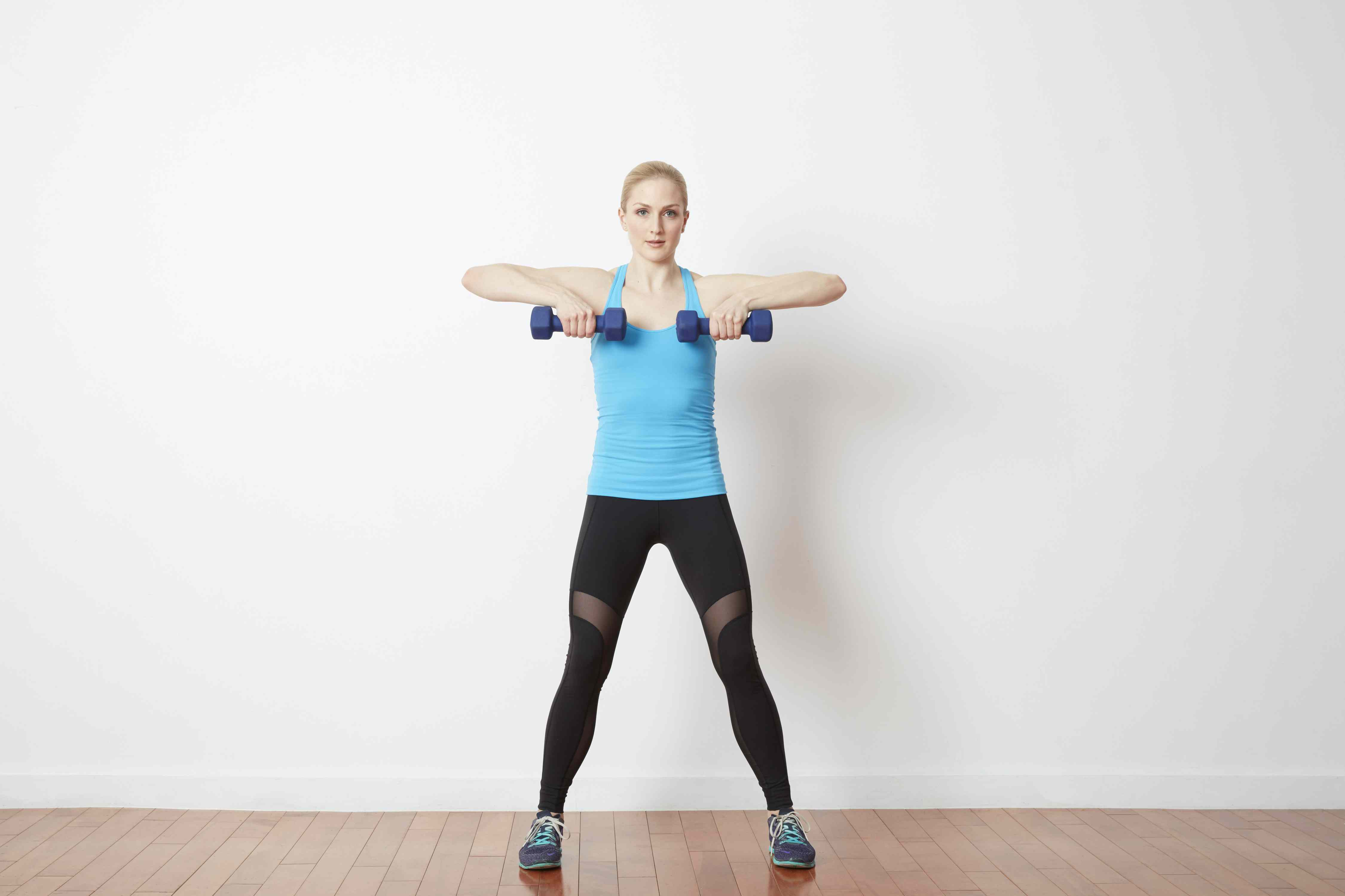 side lunge with row