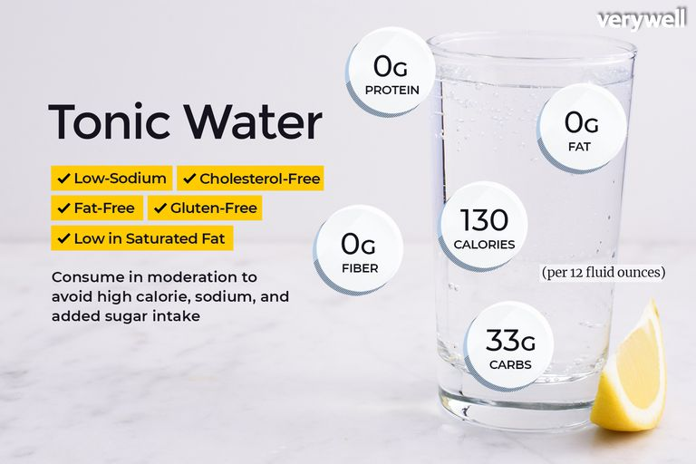 tonic water nutrition facts and health benefits