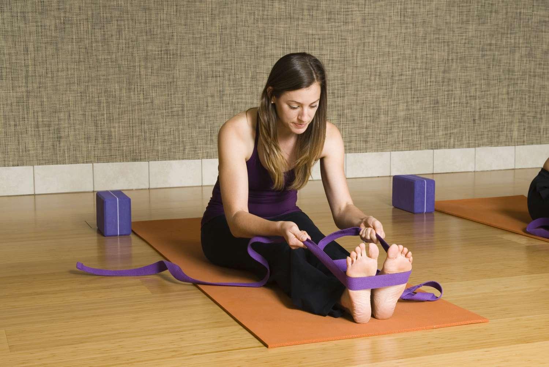 Yoga Poses for Hamstrings: Seated Forward Bend - Paschimottanasana