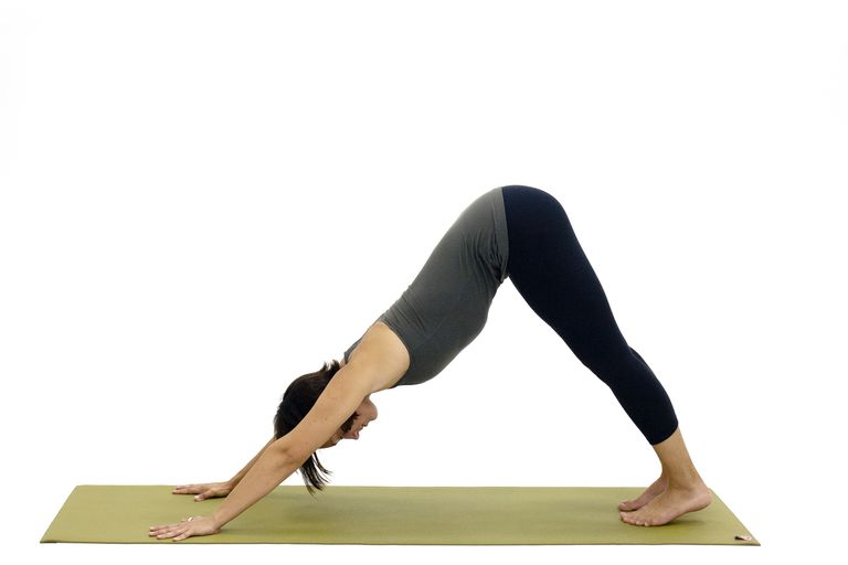 Downward Facing Dog For Breastfeeding Moms