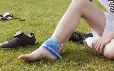 Treating Common Sports Injuries With Ice Massage