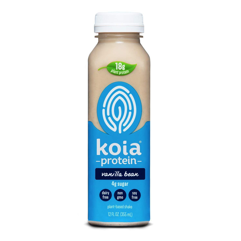 Koia Ready To Drink Plant Protein Shake Vanilla Bean