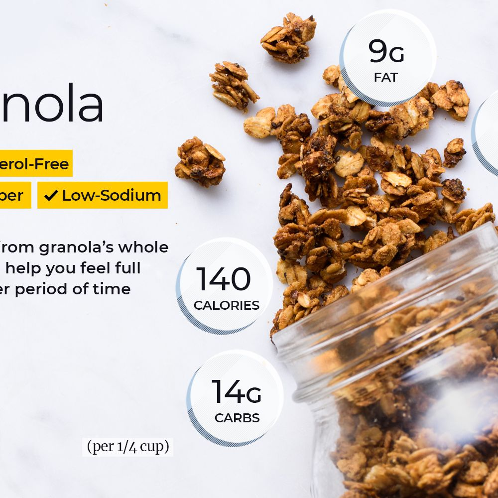 Granola Nutrition Facts Calories Carbs And Health Benefits