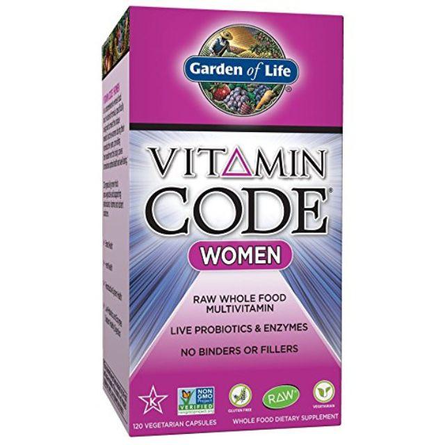 Multivitamínico Garden of Life para mujeres