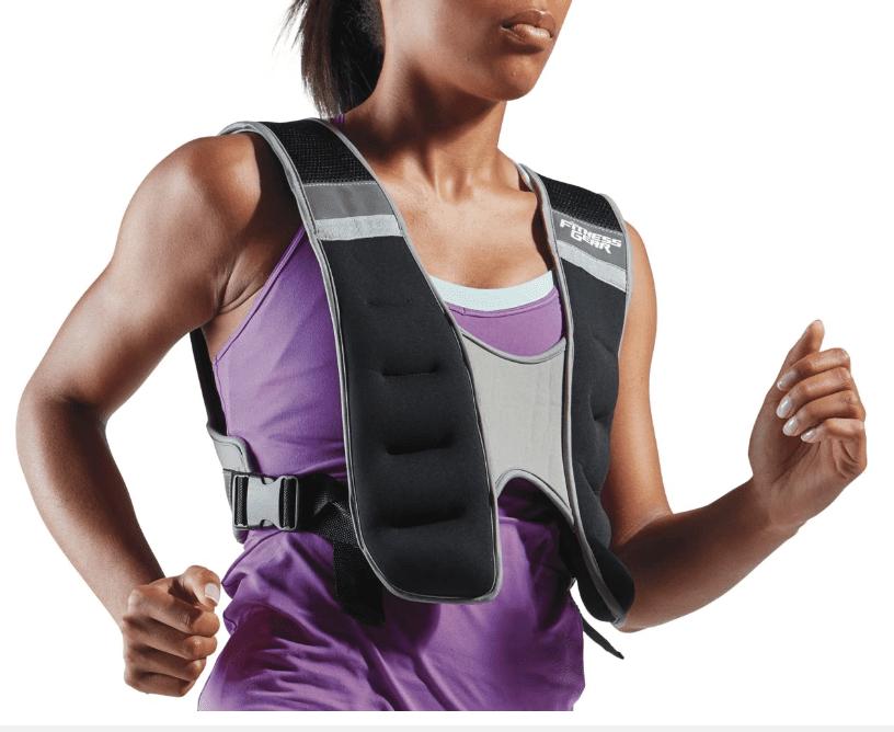 Chaleco con peso ajustable Fitness Gear de 10 lb