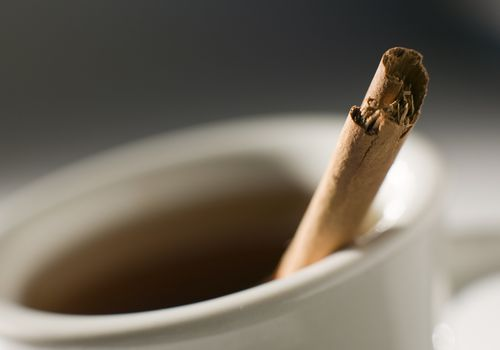 A Cinnamon Tea Recipe With Honey And Optional Spices