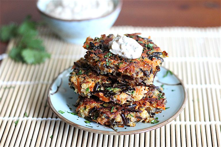 low fodmap fritters